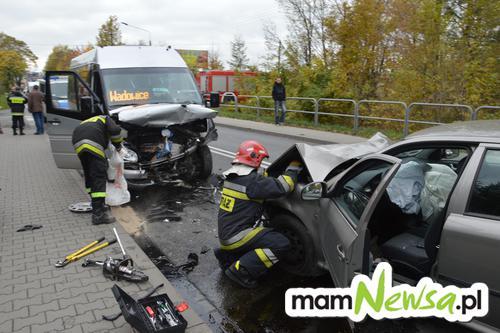 Groźny wypadek na drodze krajowej w Inwałdzie