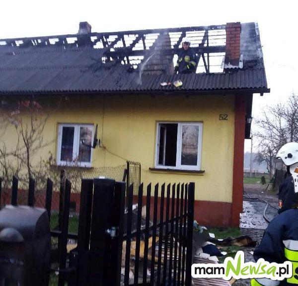 Budynek z ogniu. Spłonęło poddasze