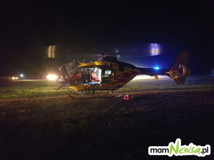 Akcja ratownicza w gminie Andrychów
