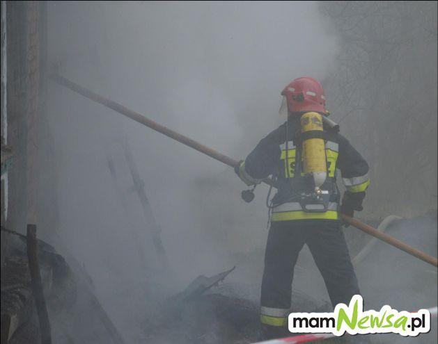 Podpalenie przyczyną pożaru?