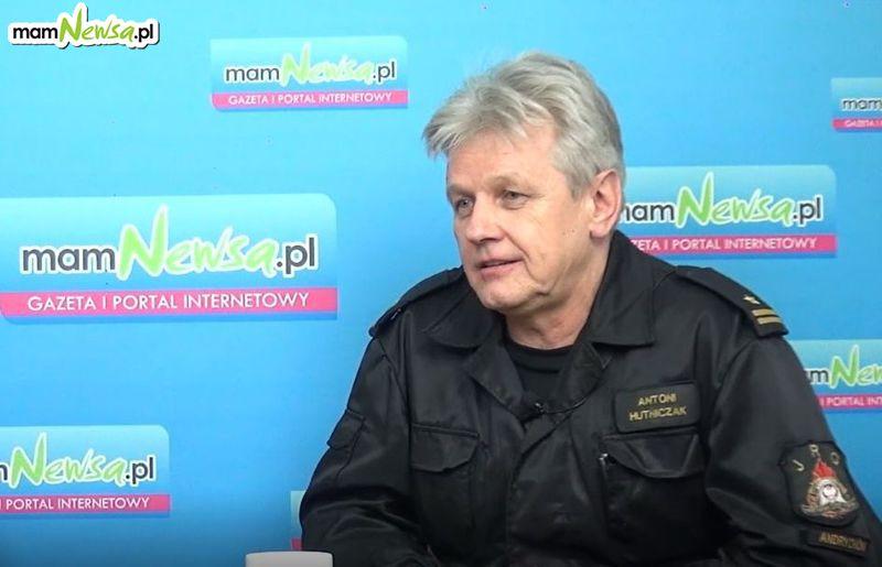 Rozmowy przy kawie z mamNewsa.pl. Szef andrychowskich strażaków