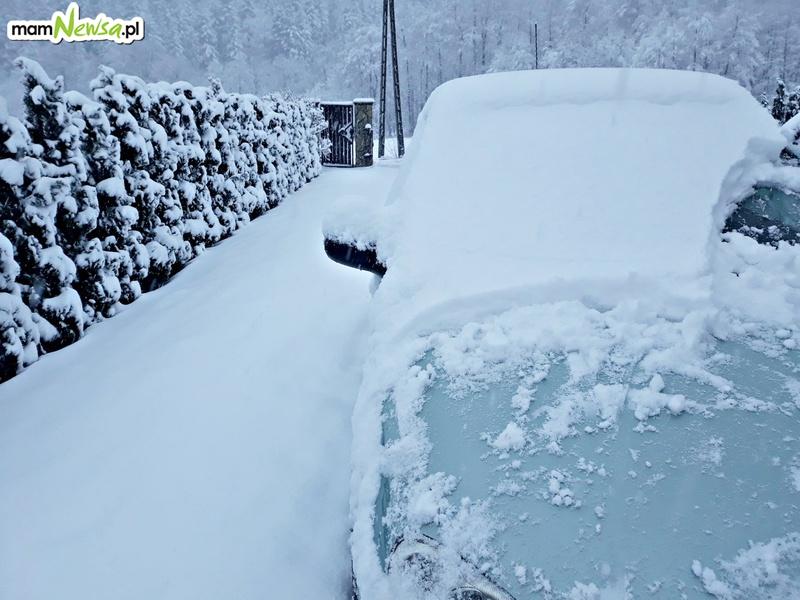 Intensywne opady śniegu. W sumie ma spaść nawet do 45 cm