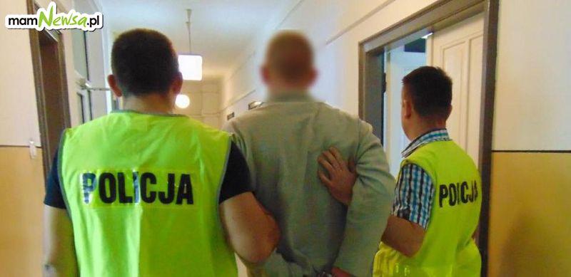 Narkotyki ukryte w altance działkowej. Zatrzymano 25-latka