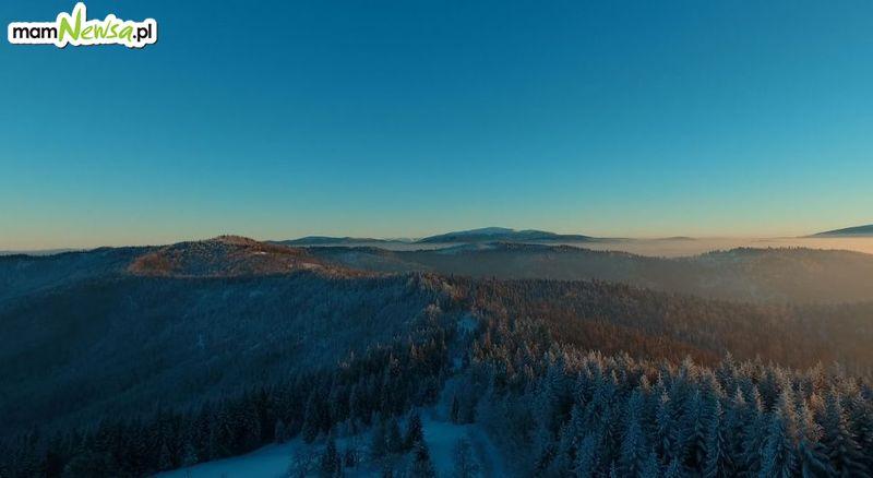 Beskid Mały w zimowej odsłonie [VIDEO]