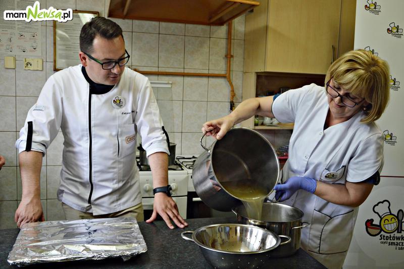 Tak gotują na stołówce w szkole w Targanicach. Smacznie i zdrowo! [FOTO]