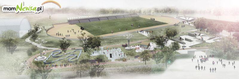 Wadowickie Centrum Rekreacji a w nim wielka arena lekkoatletyczna i boisko wielofunkcyjne