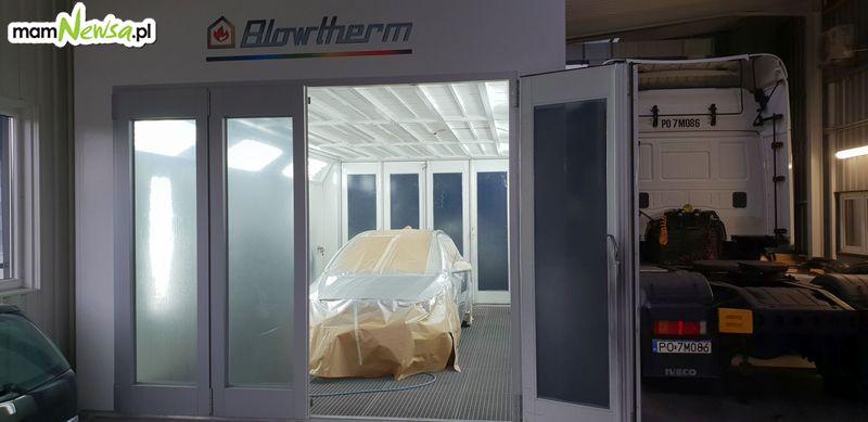 Nowa Lakiernia Samochodowa w SM Logistic