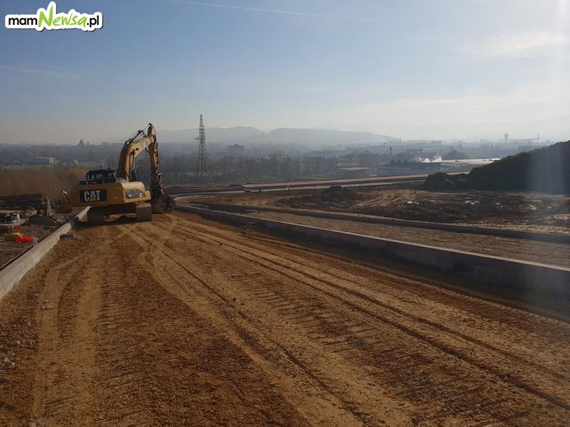 Zaglądamy na budowę strefy ekonomicznej w Andrychowie [FOTO]