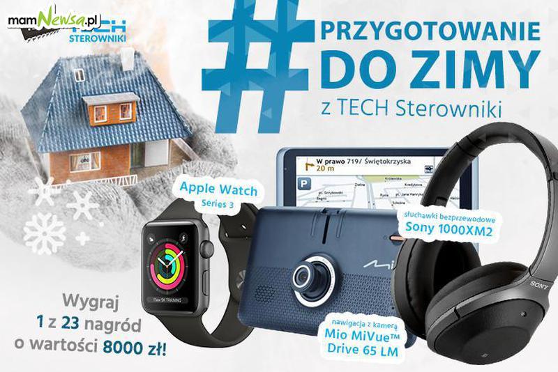 Weź udział w zimowym konkursie TECH Sterowniki – czekają nagrody o wartości 8000 zł