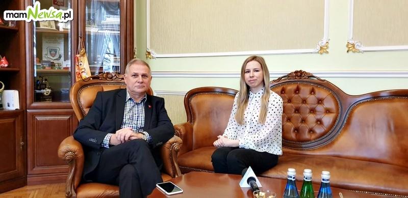 Rozmowa z burmistrzem Andrychowa Tomaszem Żakiem