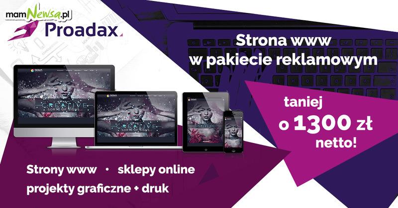 Strona WWW w pakiecie reklamowym taniej o1300 zł netto!