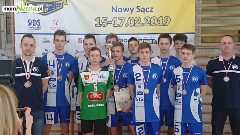 Brązowe medale siatkarzy MKS Andrychów