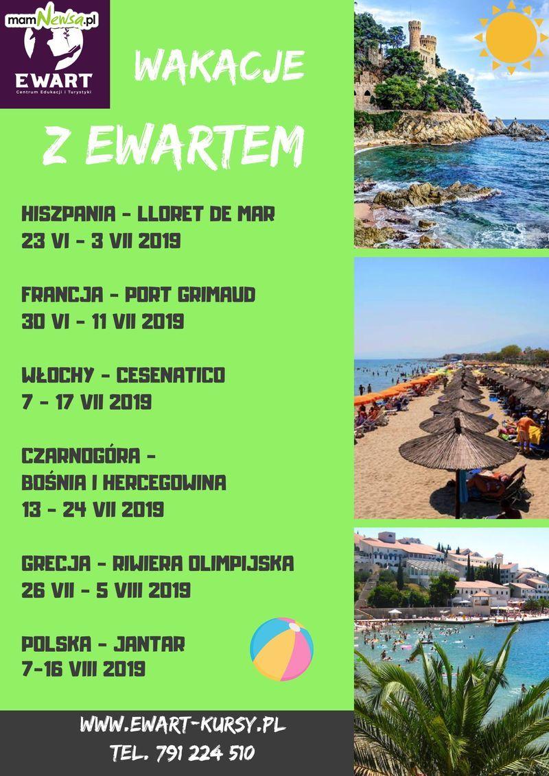 Zapraszamy do zapoznania się z ofertą wakacyjnych obozów dziecięco-młodzieżowych z EWARTEM!!!