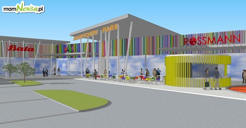 Mamy nowe fakty w sprawie budowy galerii w Andrychowie. Inwestor przesunął termin otwarcia