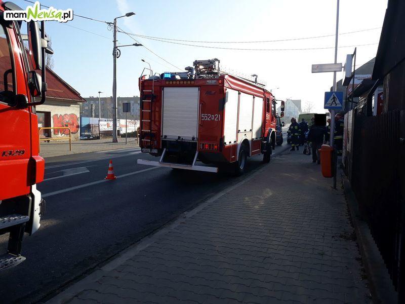 Potrącenie na przejściu na Krakowskiej