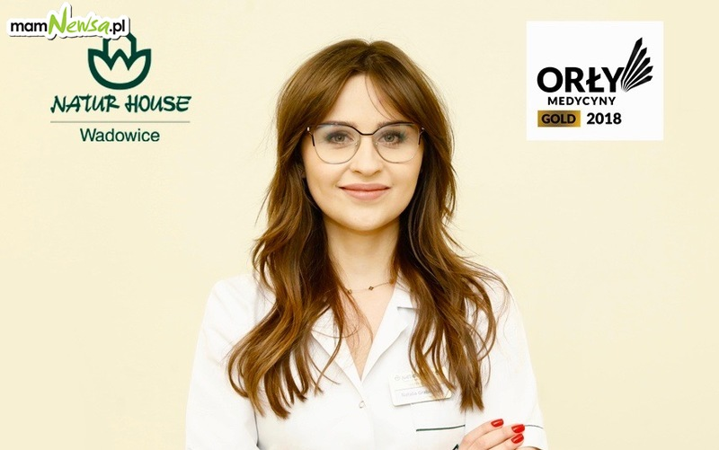 Natalia Grabińska - dietetyk Naturhouse ZŁOTYM ORŁEM MEDYCYNY!