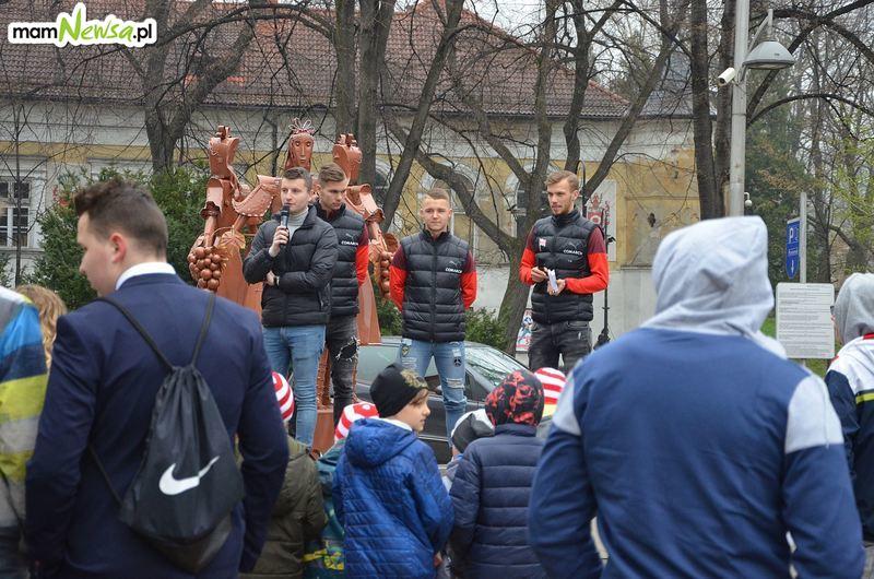 Cracovia promowała się w Andrychowie [FOTO]