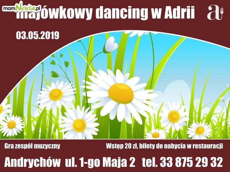 Majówkowy dancing w restauracji Adria w Andrychowie