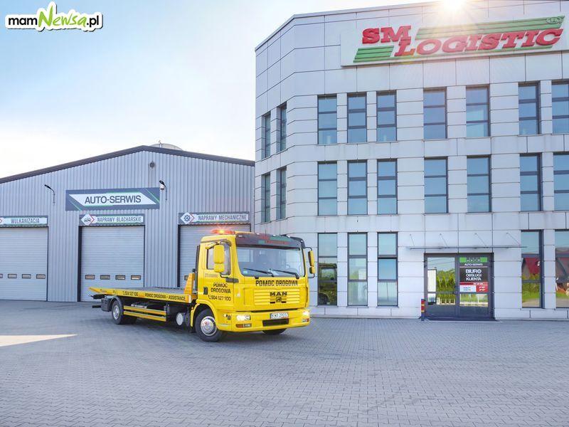 Całodobowa Pomoc Drogowa SM Logistic. Zapisz lub zapamiętaj ten numer: 504 127 100