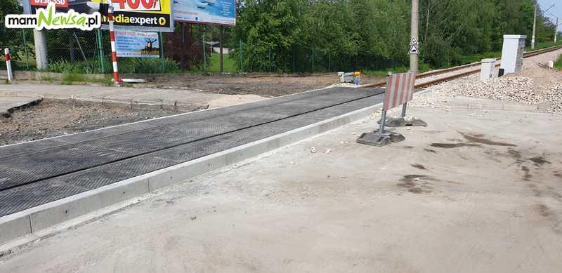 Jeszcze kilka dni utrudnień na remontowanym przejeździe w Andrychowie