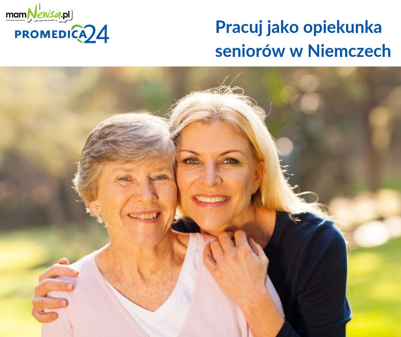 Pracuj jako opiekunka seniorów w Niemczech