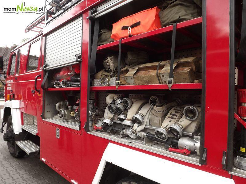Pożar na terenie Konwentu Bonifratrów