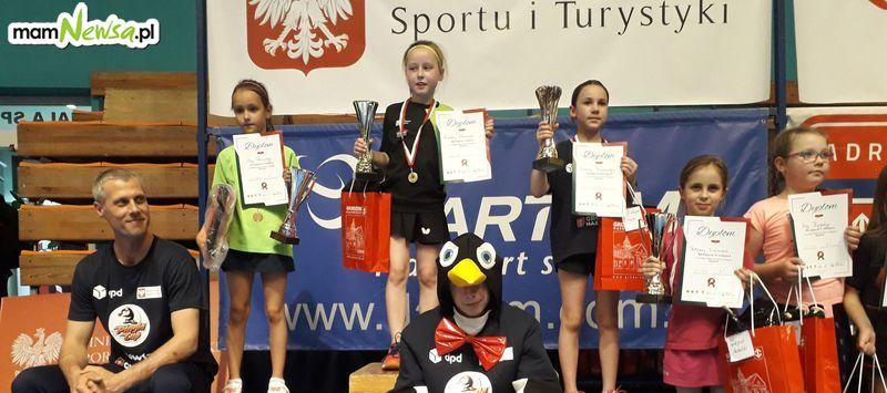 Dziewięcioletnia Zuzia z Inwałdu najlepszą tenisistką w Polsce! [FOTO]