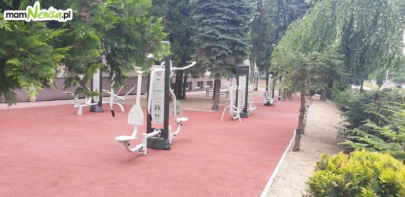 Nowe siłownie zewnętrzne przy trzech średnich szkołach