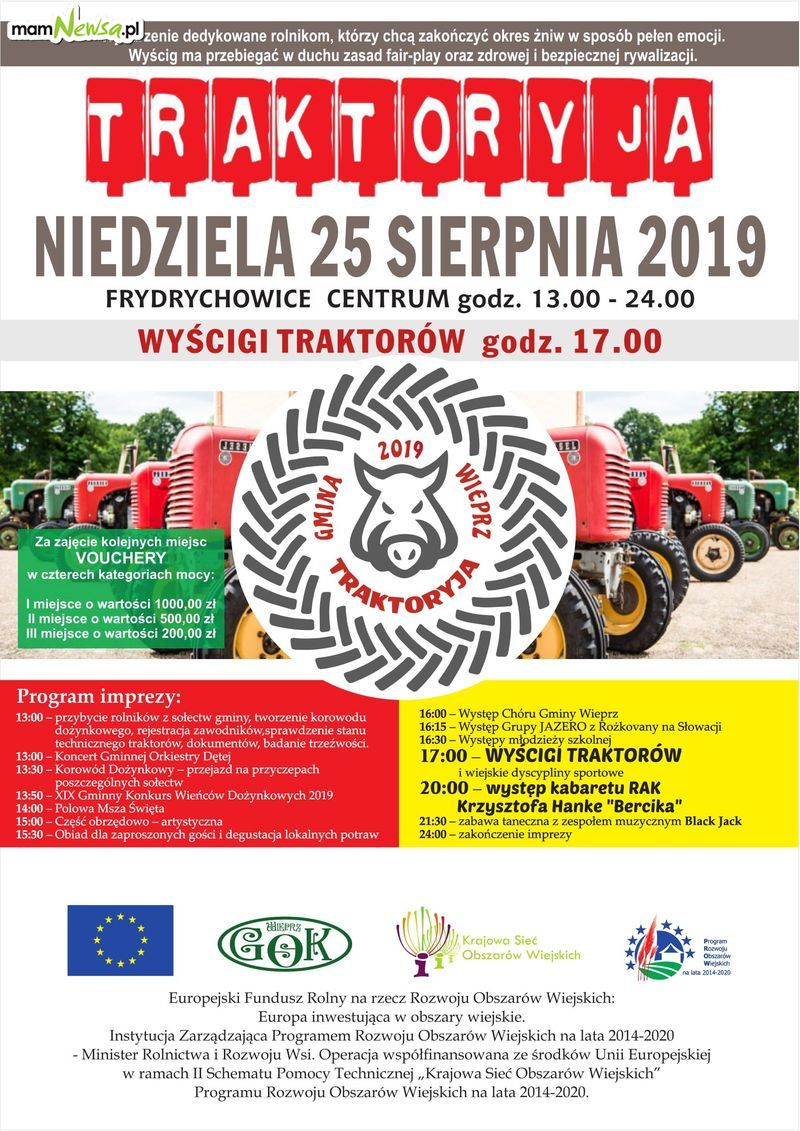 Kolejna edycja wyścigów traktorów