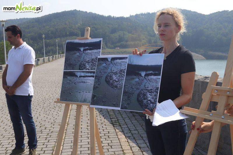 Prowokacja na Jeziorze Mucharskim?