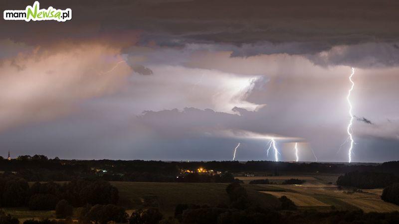 Uwaga na burze z gradem w naszym regionie