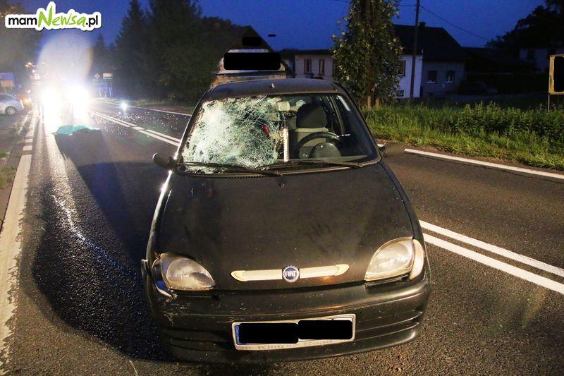 Tragedia na drodze w Kętach [FOTO] [AKTUALIZACJA]