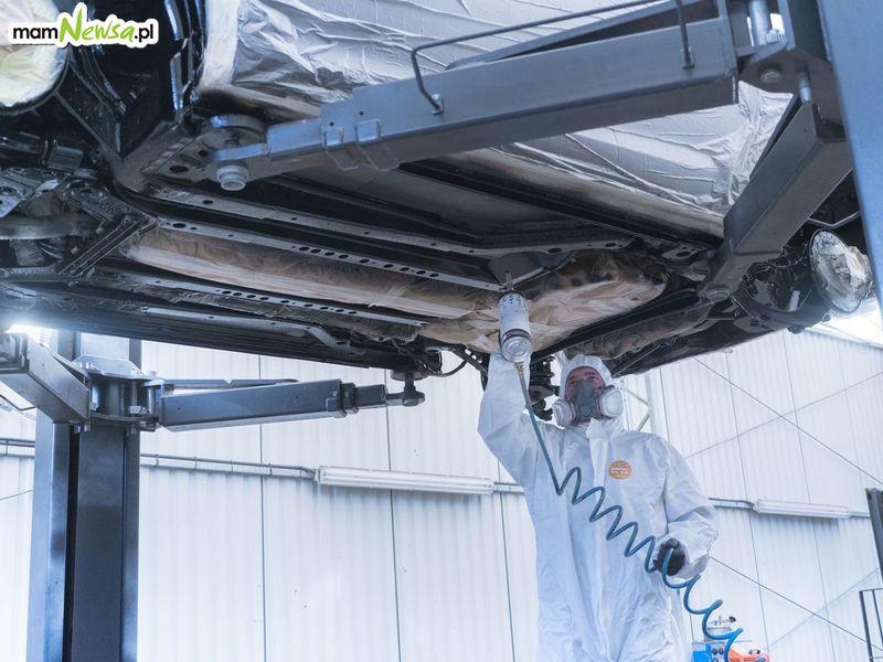 Konserwacja podwozia w Autoserwisie SM Logistic