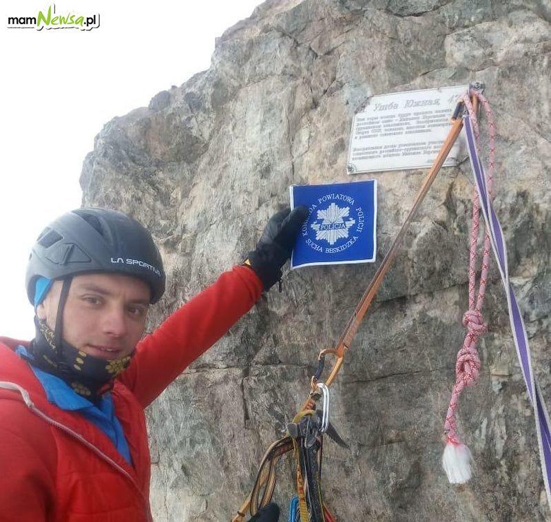 Policjant zdobył jeden z najtrudniejszych szczytów Kaukazu