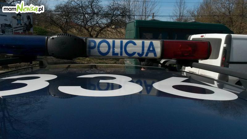Złodziej części samochodowych namierzony przez policjantów