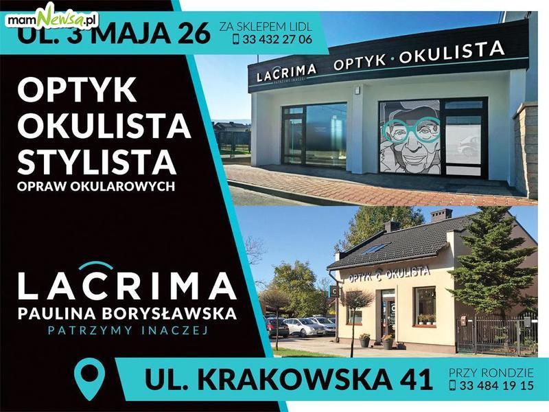 Urodziny LACRIMA OPTYK 7-8 listopada. Specjalne urodzinowe ceny!