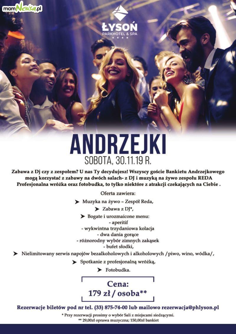 Andrzejki w Park Hotel Łysoń