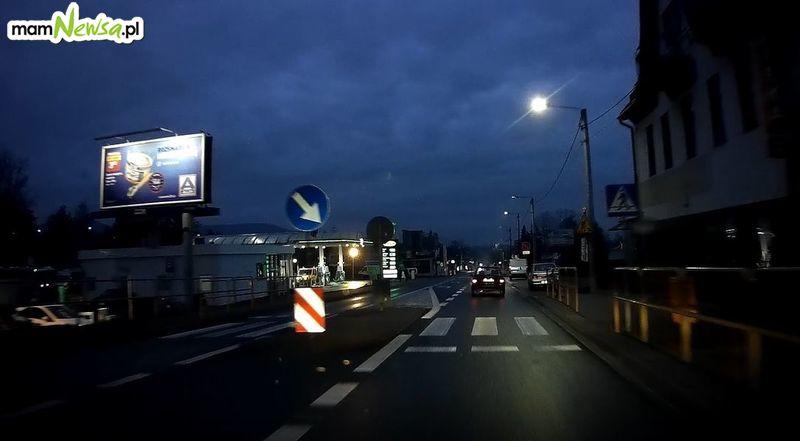 Wypadek na Krakowskiej, poszkodowana osoba trafiła do szpitala