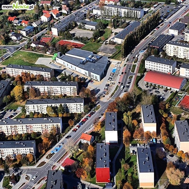 Andrychów i okolice z lotu ptaka