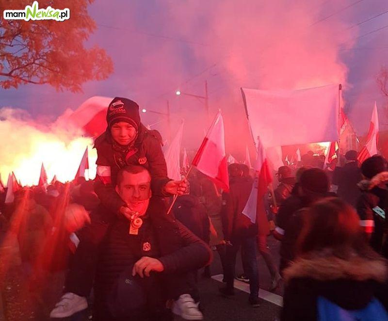 Marsz Niepodległości przeszedł ulicami stolicy
