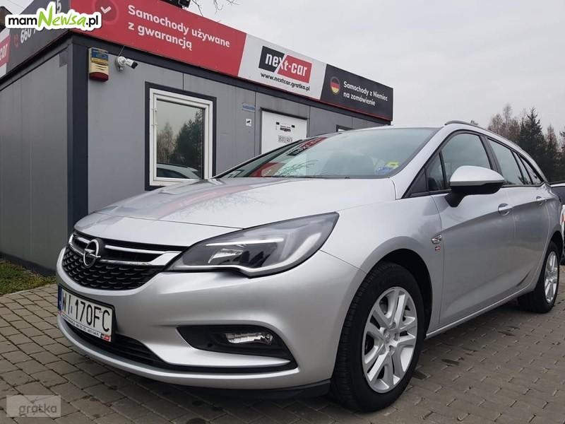 Next-Car sprzeda samochód: Opel Astra K 1,6 CDTI 110 KM. Okazja