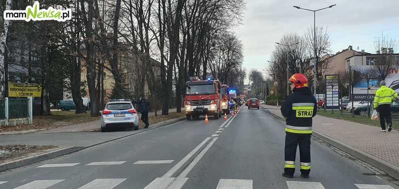 Zderzenie na głównej ulicy Andrychowa