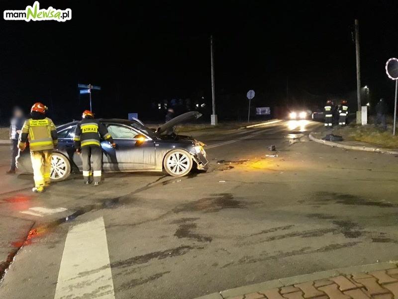 Znowu kraksa na skrzyżowaniu Głowackiego ze Żwirki i Wigury w Andrychowie [FOTO]