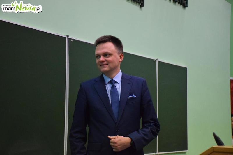 Ekipa Szymona Hołowni w Kętach i Wadowicach