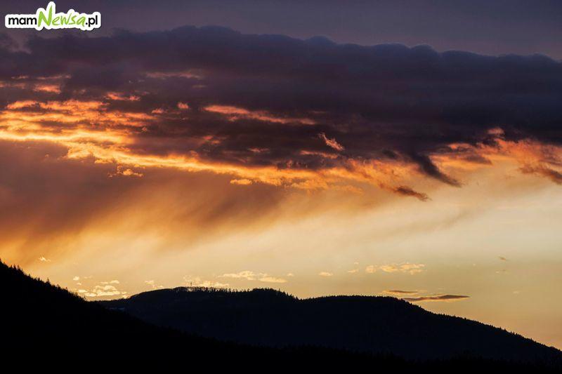 Niedzielny zachód słońca [FOTO]