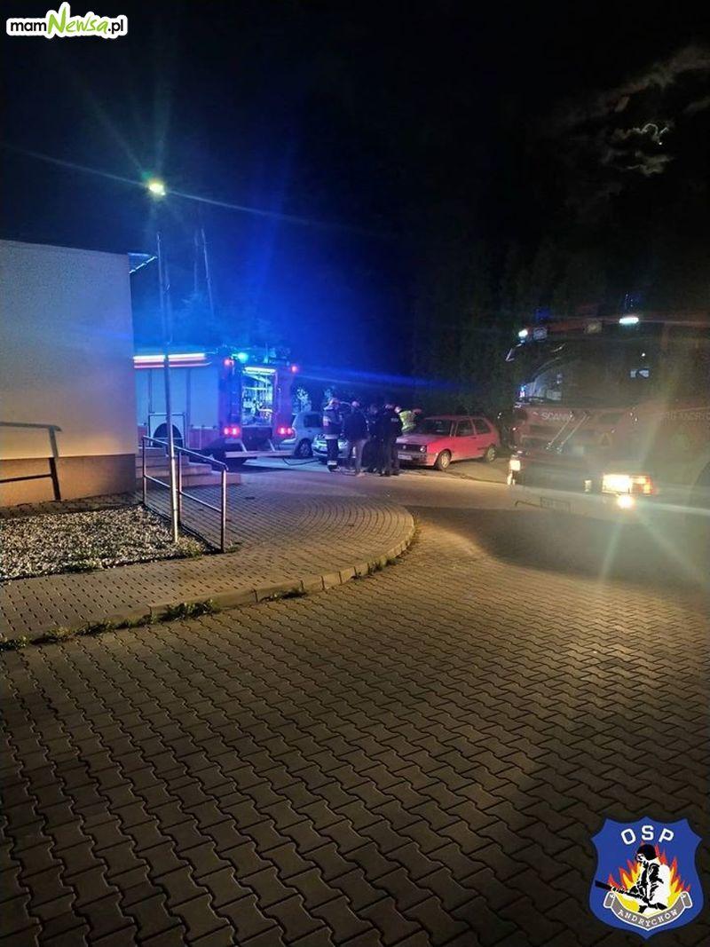 Nocny pożar w Andrychowie. Podpalenie?