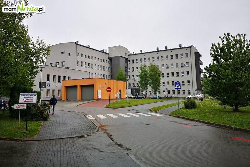 Na kolejnych oddziałach w szpitalu wstrzymano przyjęcia pacjentów