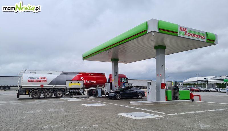 Tanie tankowanie na stacji paliw SM LOGISTIC