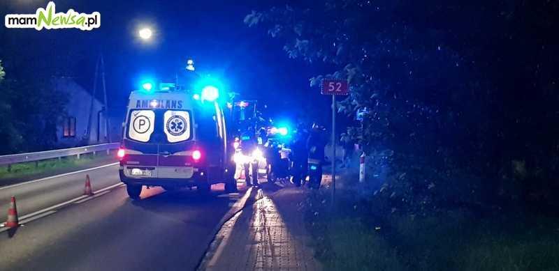 Wypadek na Krakowskiej, poszukiwania jednego z uczestników [AKTUALIZACJA]
