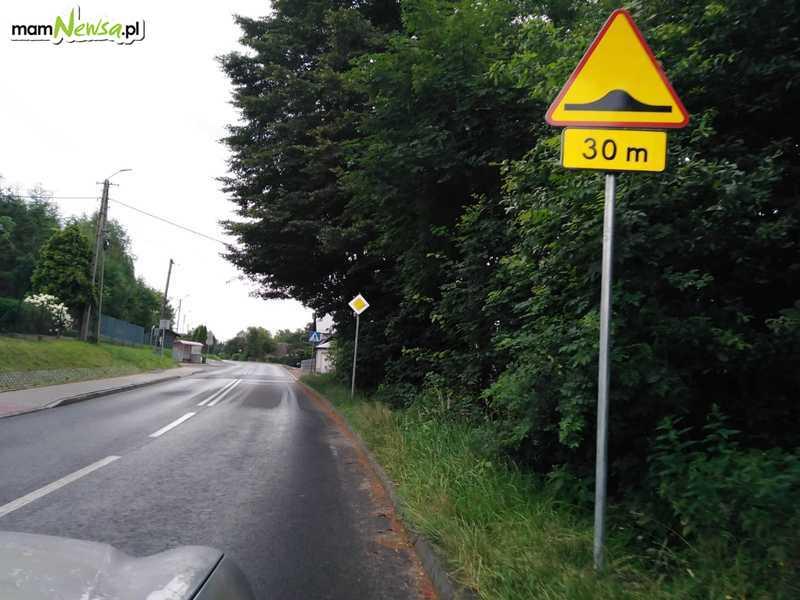 Uważajcie na tej drodze! Zamontowano progi